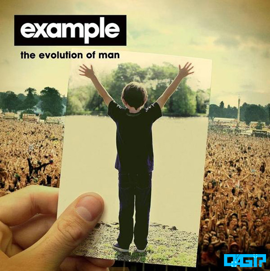 "Escute previews do ""The Evolution Of Man"", novo álbum do Example! Man"