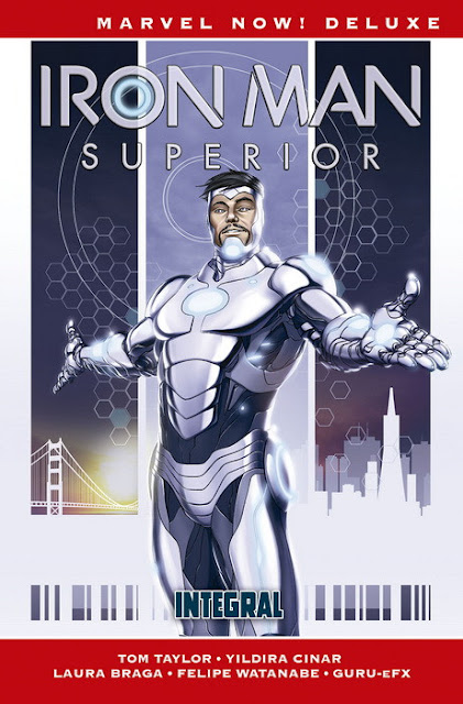 Reseña de Marvel Now! Deluxe. Iron Man Superior (Integral) - Panini Comics