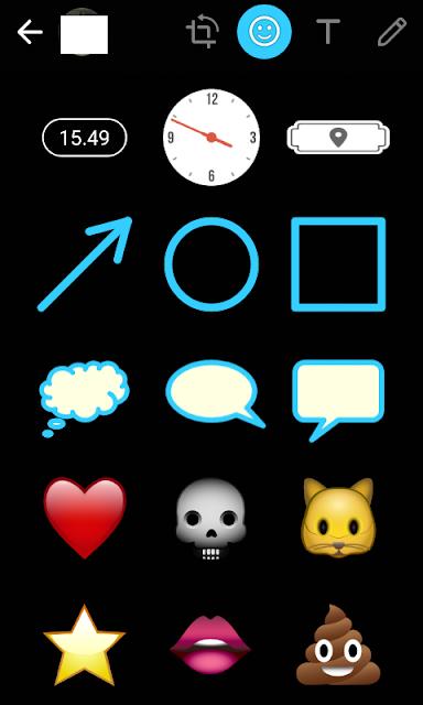 emoticon jam untuk absen