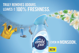 Ambi Pur's New TVC Focuses on Refreshing Monsoons