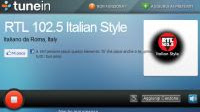 Radio in streaming Tunein via web e su Windows 10 e 8