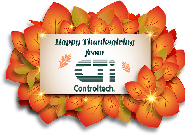 Happy Thanksgiving from CTi Controltech