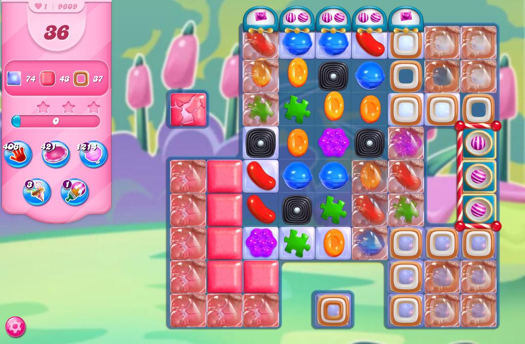 Candy Crush Saga level 9609