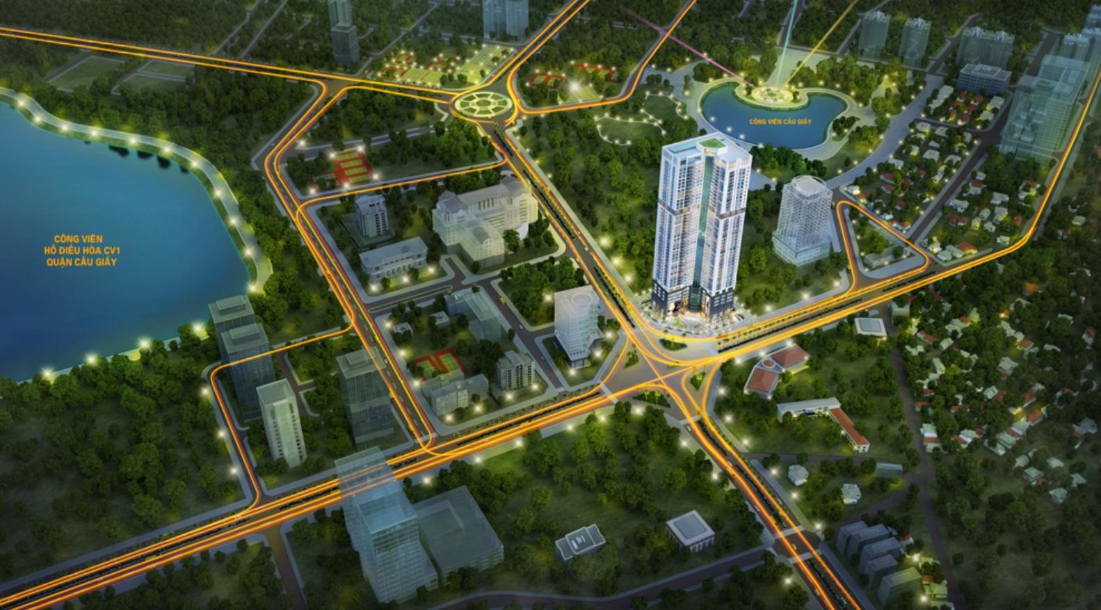 """Dự án Golden Park Tower lấy ý tưởng thiết kế """"Giá trị Vàng - Bền vững cùng thời gian"""""""