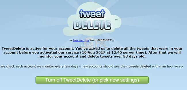 Tweetler silindi