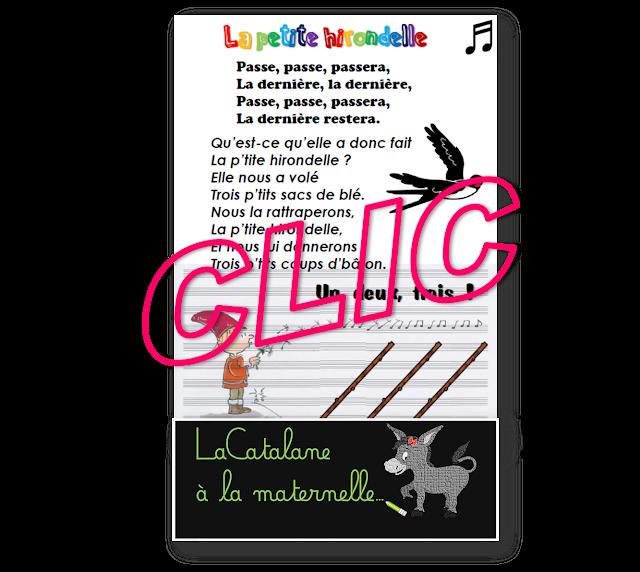 """""""La p'tite hirondelle"""" (trad.) - LaCatalane"""