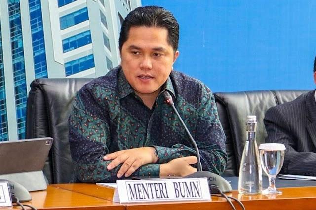 Erick Tohir Rombak Direksi PT PAL Indonesia