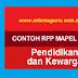 CONTOH RPP MAPEL PPKN KELAS VII K13