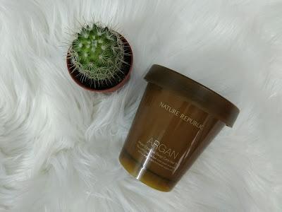 hair mask, nature republic hair pack, nature republic argan oil, penjagaan rambut kering, produk penjagaan rambut, produk penjagaan rambut korea