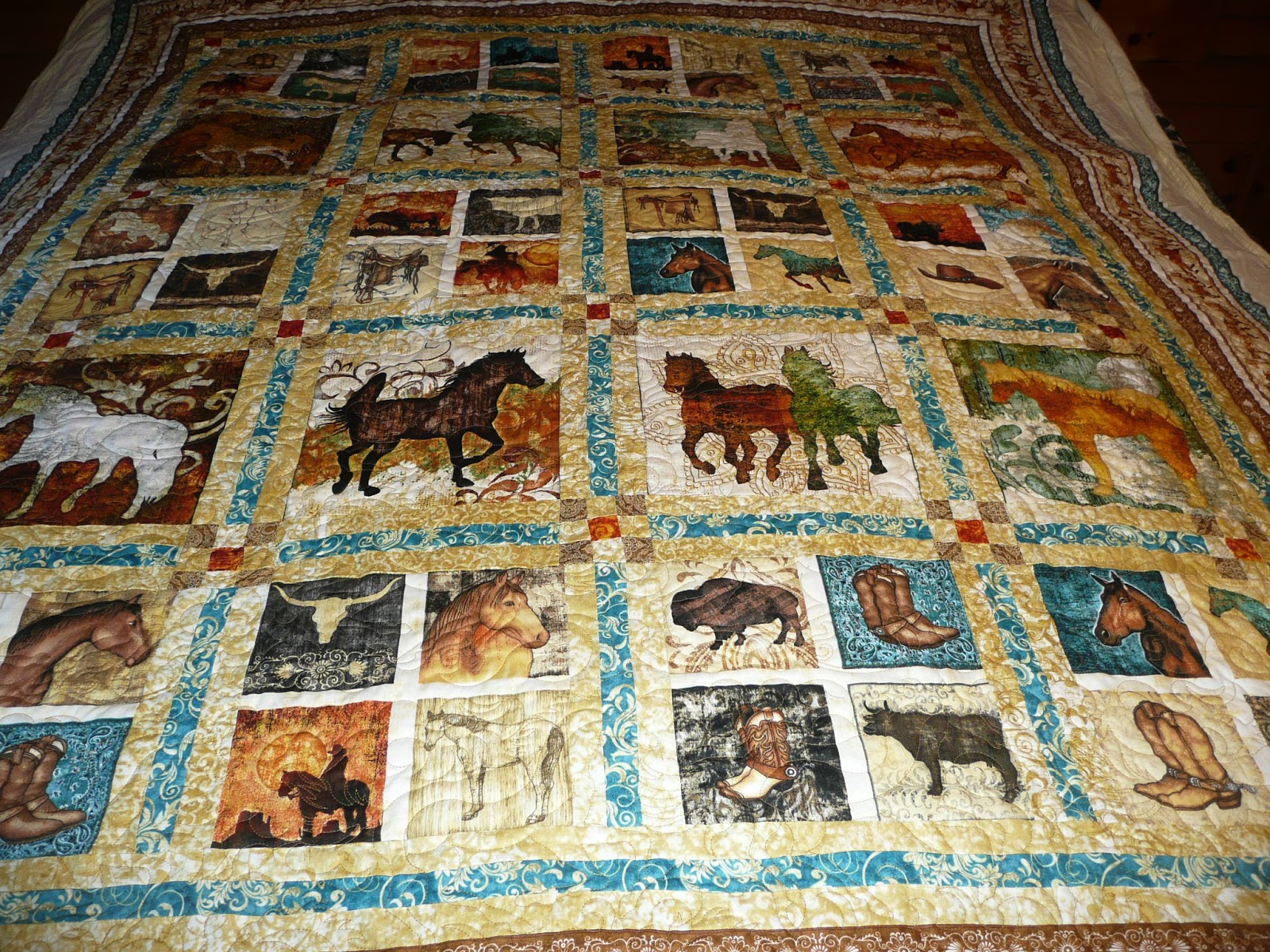 animated theodore o original size horse gray quilts quilt
