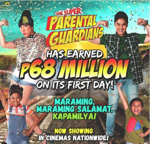 'The Super Parental Guardians' Dominated the Box-Office! Did They Top AlDub's 'My Bebe Love'?