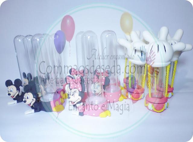 Tubetes Minnie e Mickey - Disney