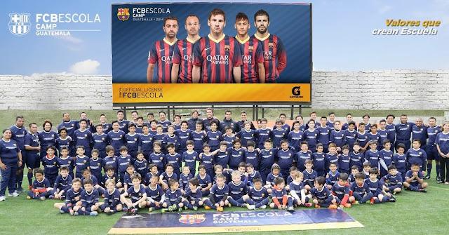 El Barça abre otra FCBEscola esta vez en Guatemala