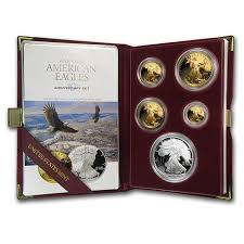 1995-W Gold and Silver set