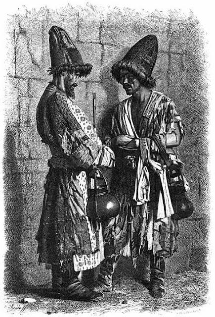 Василий Васильевич Верещагин - Нищенствующие дервиши–дувана (юродивые). 1873