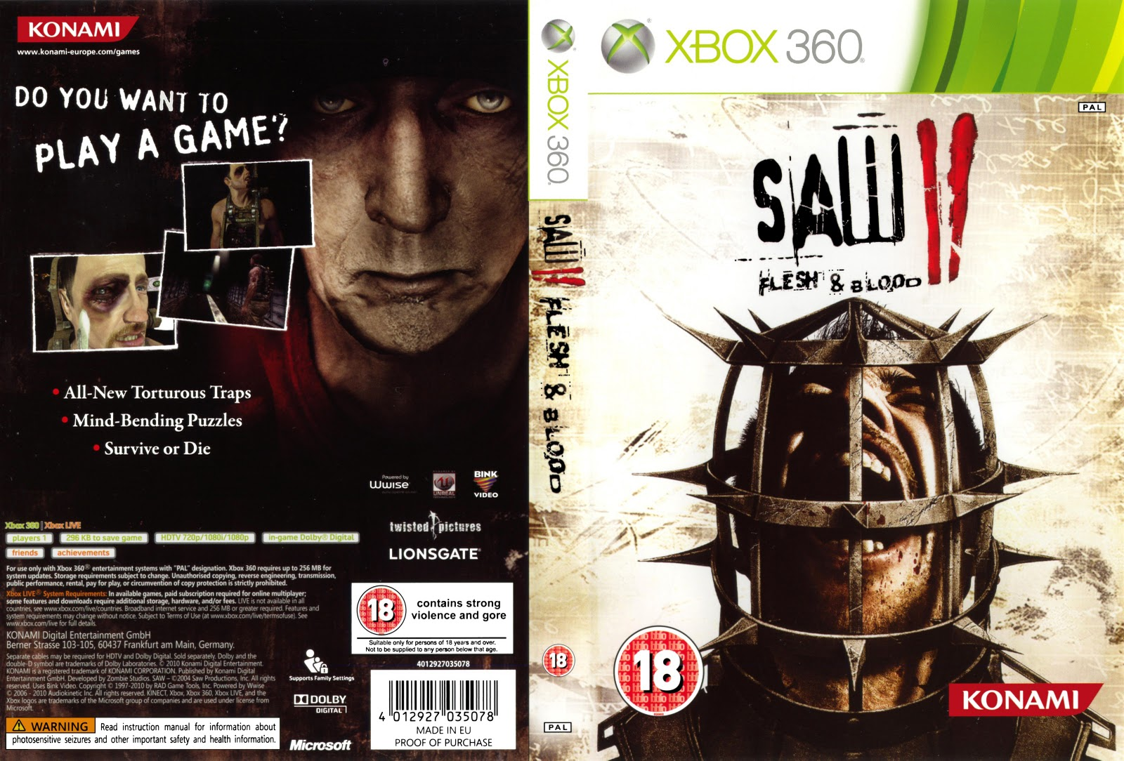 saw 2 xbox 360 – Steel All Boots
