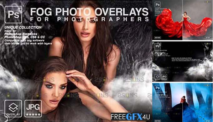 Fog Photoshop Overlay - Smoke Overlay