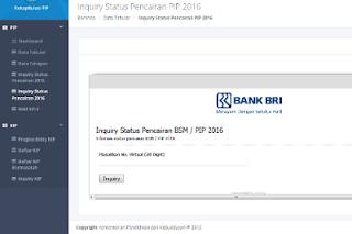 cara mengecek status pencairan Program Indonesia Pintar (PIP) tahun 2016
