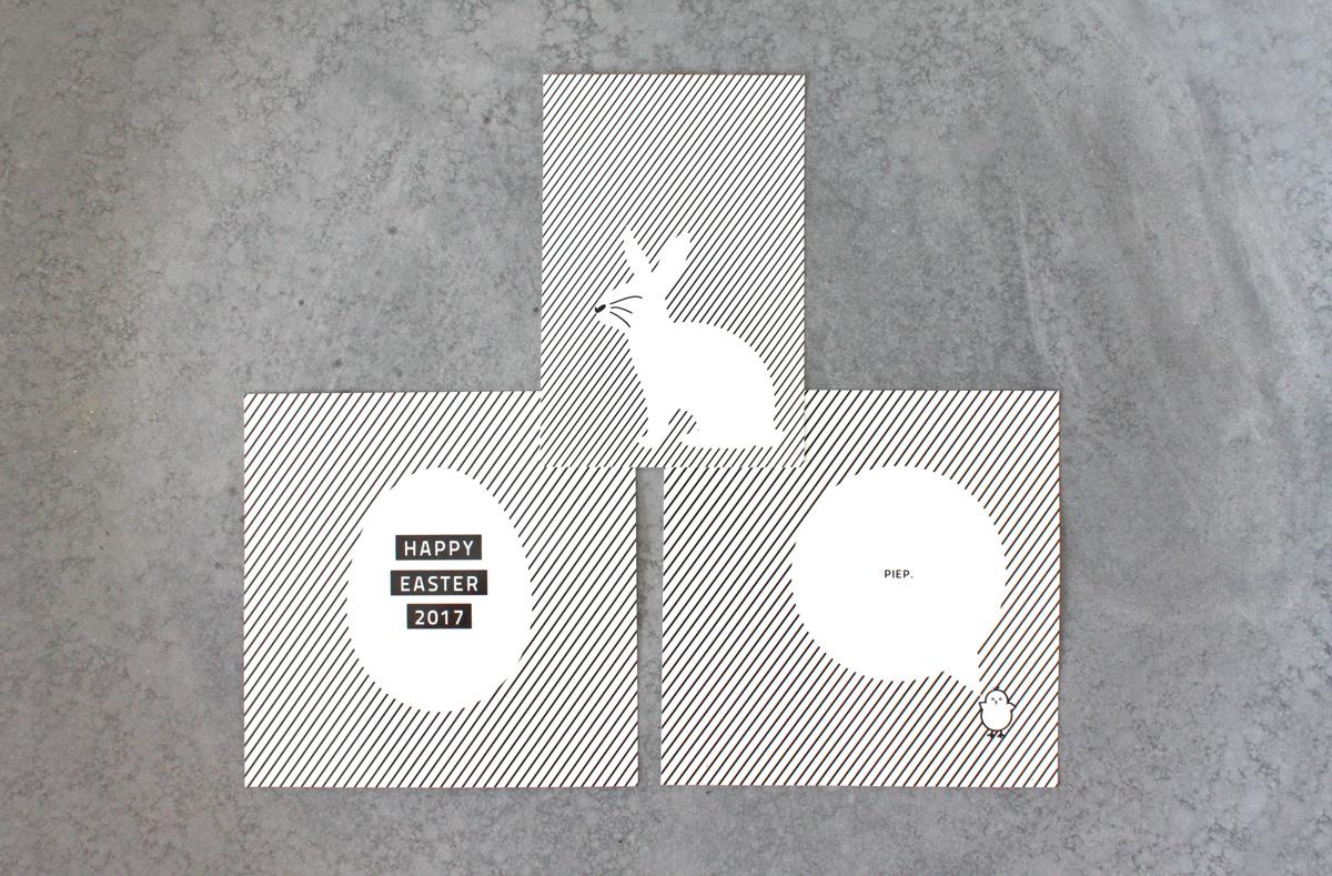 Oster Grafiken in schwarz weiss zum Download