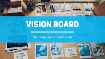 montar vision board
