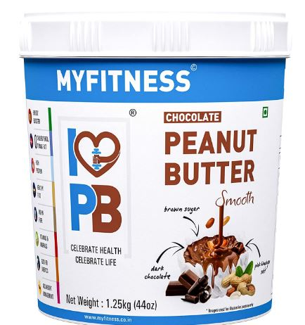 MYFITNESS Chocolate Peanut Butter Smooth (1250g (Single Unit)