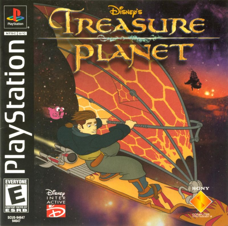 Disneys Treasure Planet - PS1 - ISOs Download