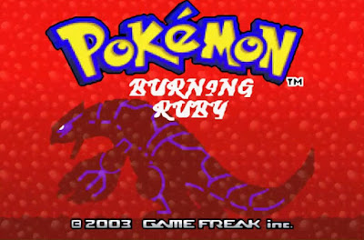 Pokemon Burning Ruby para GBA Imagen Portada