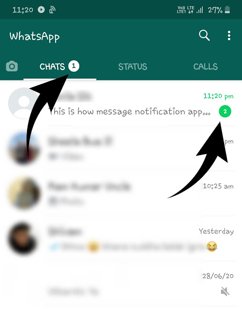 Check suspicious activities in read messages