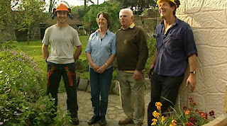 Monty Don and Liz's family