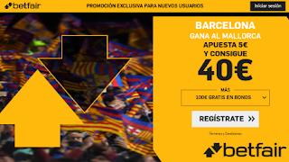 betfair supercuota liga Barcelona gana Mallorca 7-12-2019