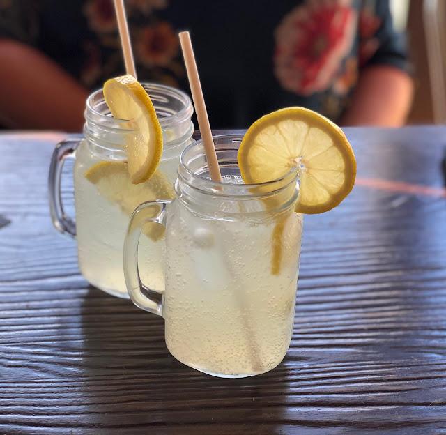 Homemade lemonade from Lock Stock n Burgers Berwick