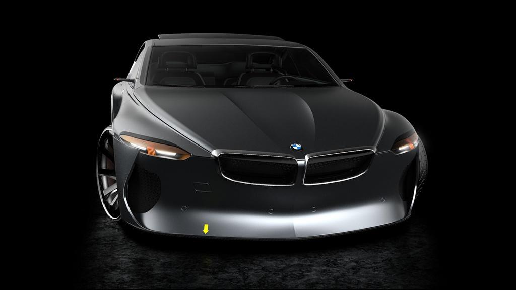 BMW 6-Series Concept với thiết kế thừa hưởng từ thế hệ đầu