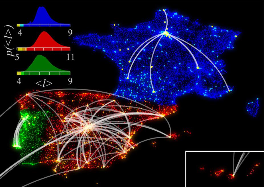 Análisis De Redes Sociales Redes Sociales Urbanas Y El
