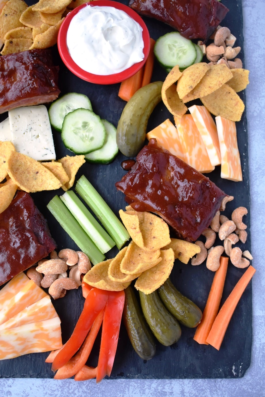 Super Bowl Appetizer Board