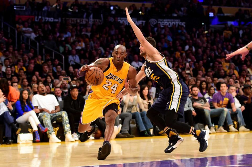 NPhotos from Kobe Bryant's Last NBA Career Game
