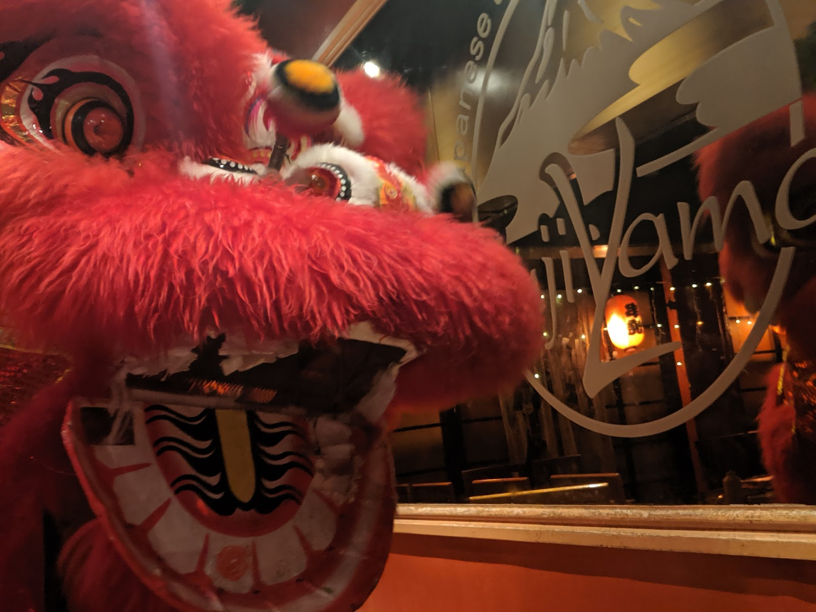 10 Reasons to Celebrate Chinese New Year in Newcastle  - chinese dragon in restaurant