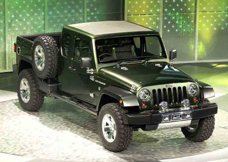 2017 Jeep Gladiator Design