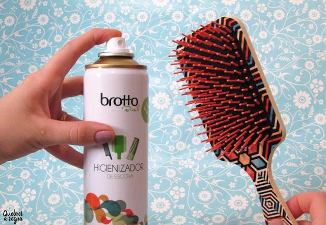 Deo Higienizador, o higienizador de escova da Brotto Brasil