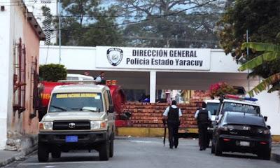 Reportan fuga de seis reclusos de un centro policial en Yaracuy