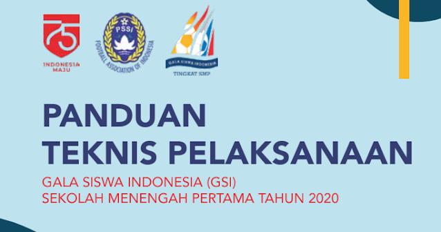 Panduan Teknis Pelaksanaan Gala Siswa Indonesia (GSI) SMP Tahun 2020