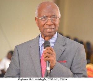 Emeritus Professor Oladipo Akinkugbe Is Dead.