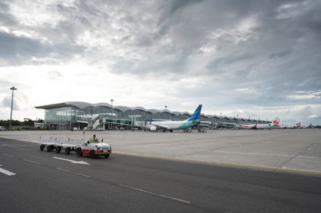 Semburan Abu Vulkanik Sinabung Belum Ganggu Penerbangan di Bandara Kualanamu