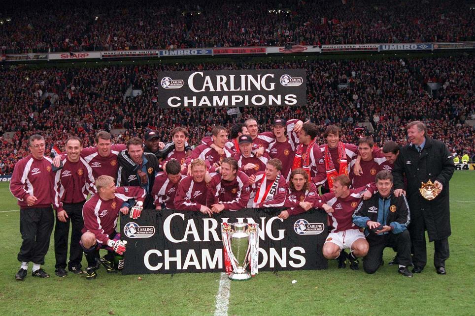 premier league champions man united 1996/97 squad