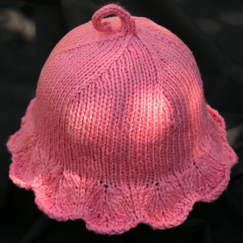On the Sunny Side Baby Sun Hat - Free Pattern