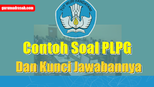 Contoh Soal PLPG Plus Kunci Jawaban