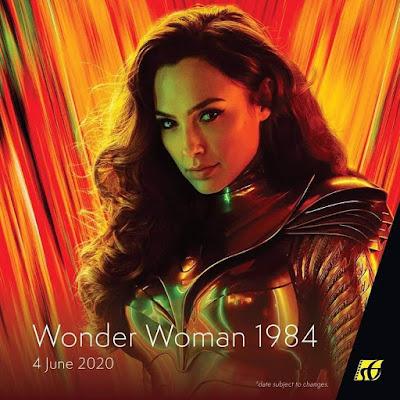 Filem Keluar Panggung Wayang 2020 | Wonder Woman 1984 (2020)