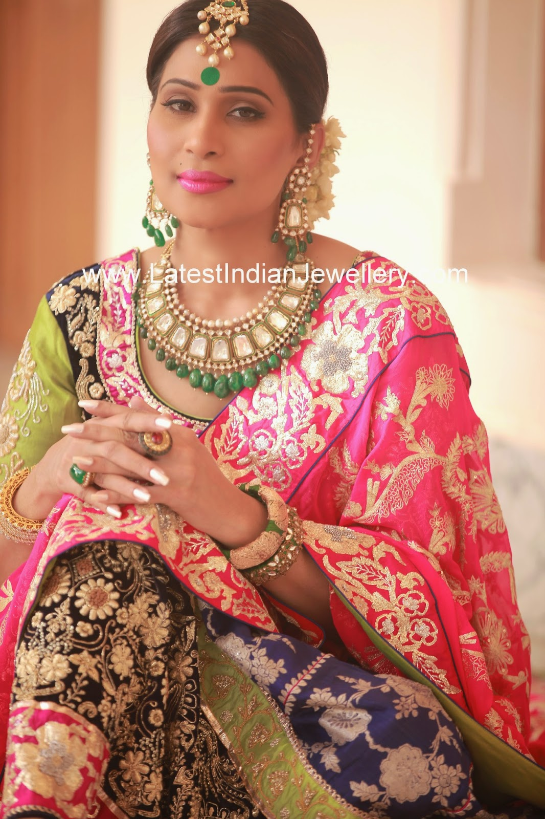latest kundan jadau jewellery