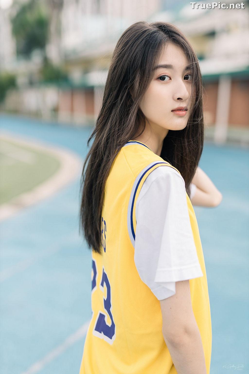 Image Thailand Beautiful Girl - View Benyapa - Long Hair Sport Girl - TruePic.net - Picture-3