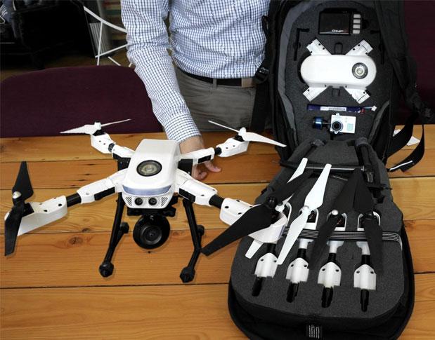PlexiDrone, Drone Portable yang Bisa Dirakit!