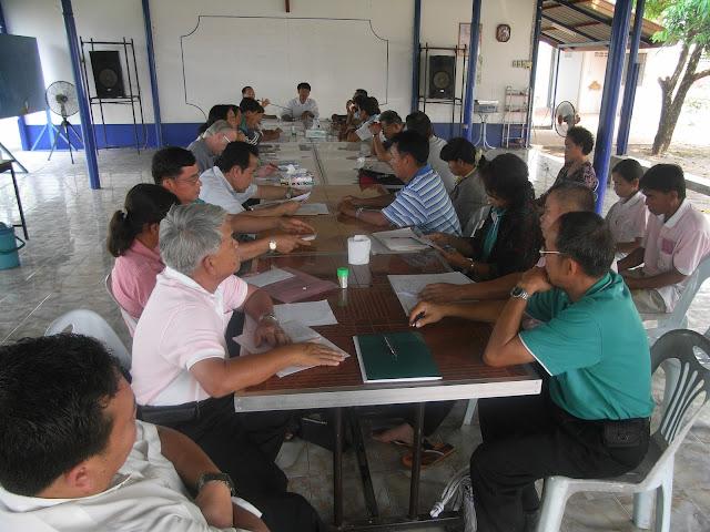 Reunión de catequistas en Tailandia